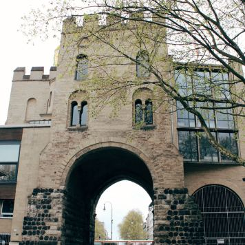 The Hahnentor Royal Gate, Cologne