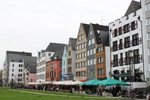 Cologne, Germany riverfront restaurants