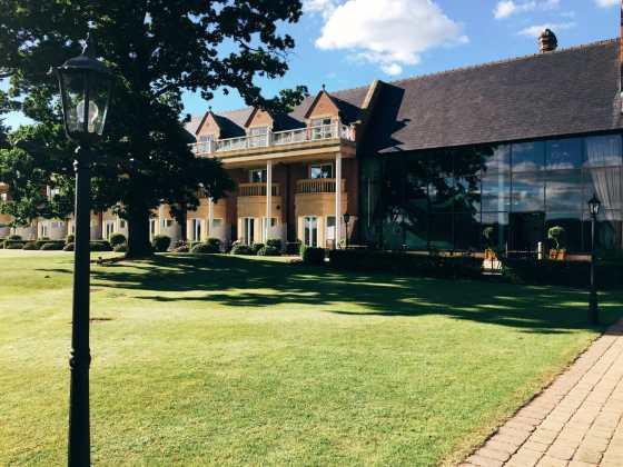 Rockliffe Hall - new hall
