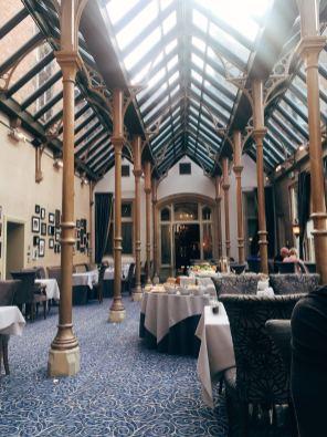 The Orangerie restaurant - Rockliffe Hall