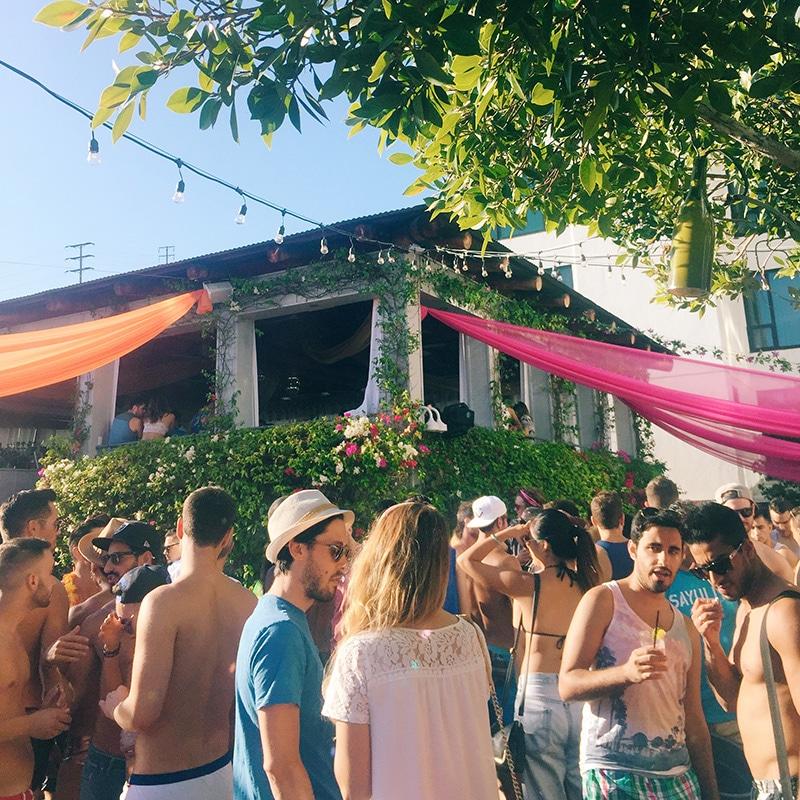 Skybar Pool Party, Mondrian LA