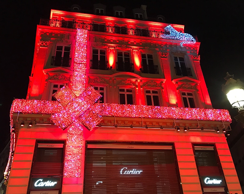 Cartier, Champs Elysees