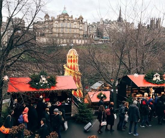 Edinburgh's Christmas market
