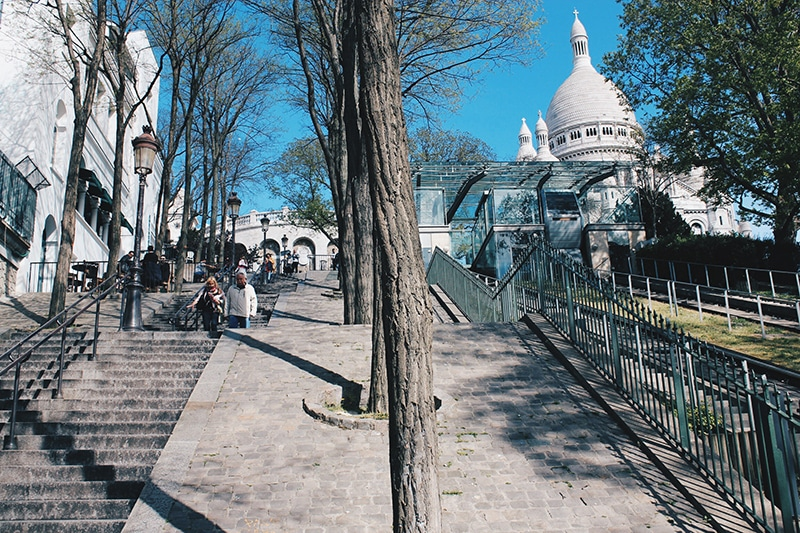 Paris wishlist Montmartre Steps