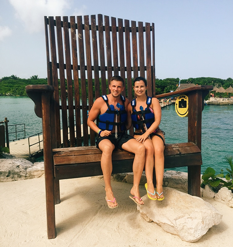 Xel ha giant chair