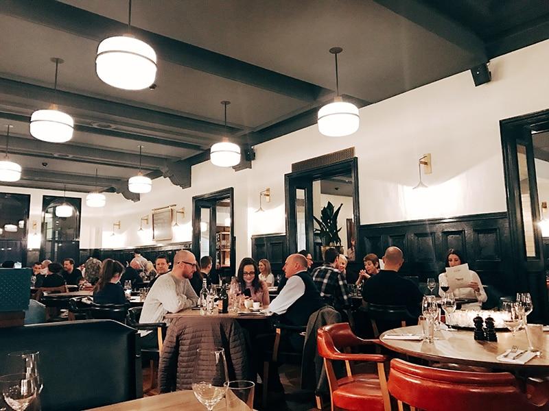 Hawksmoor restaurant, Manchester
