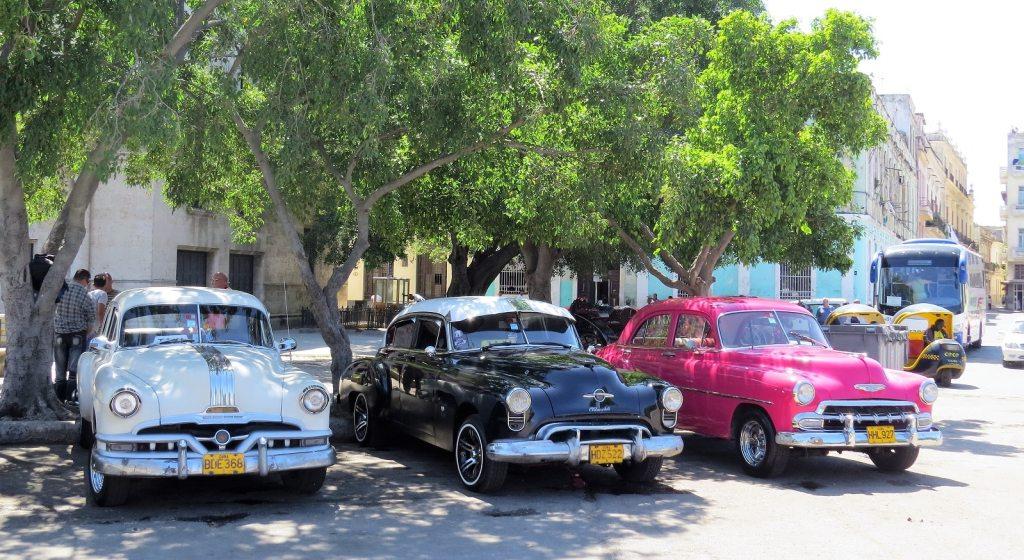 Cuba taxi rank