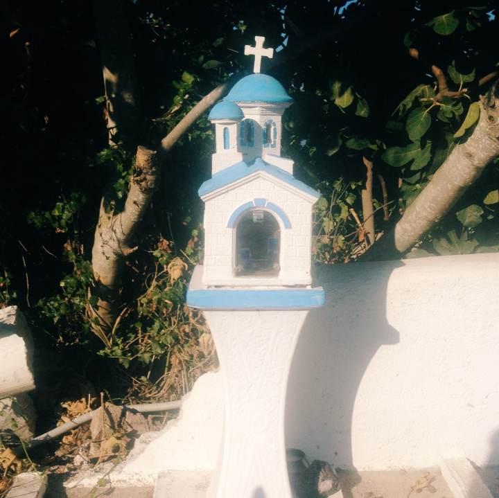 Santorini's Churches