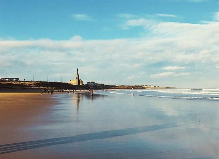 Tynemouth beach