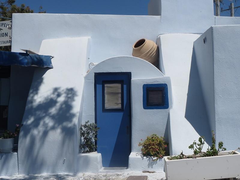 Santorini doorway
