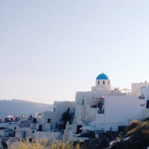 Santorini's Churches