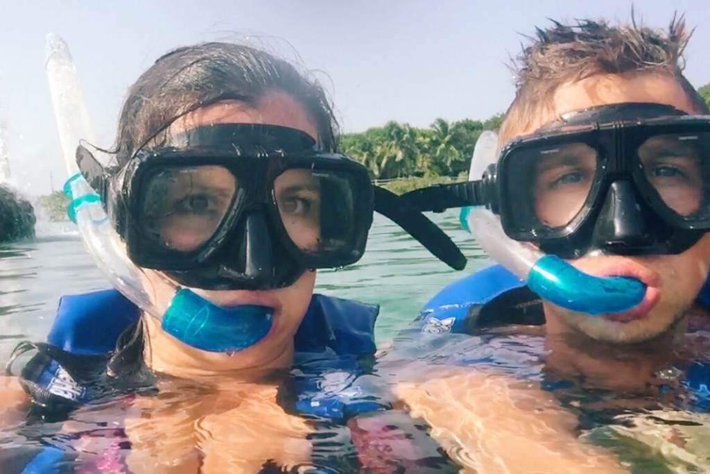 Tulum snorkelling