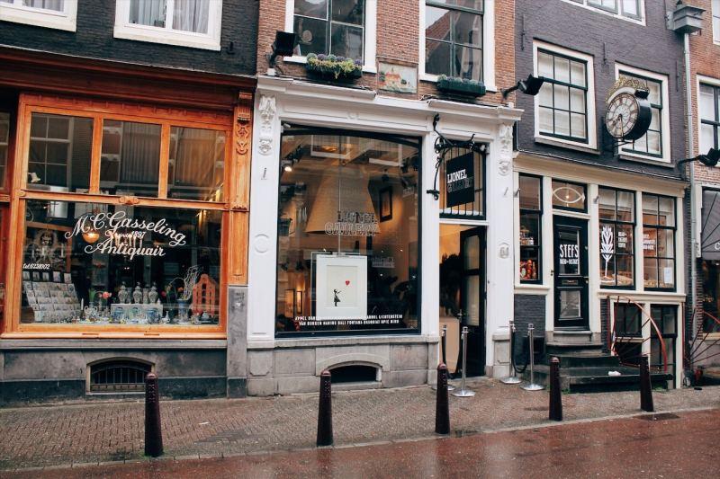 Banksy print Amsterdam