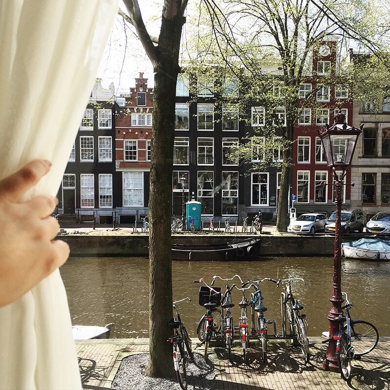 really comfy sofa bed uk walmart sofas and sectionals staying in a traditional amsterdam canal house at the ...