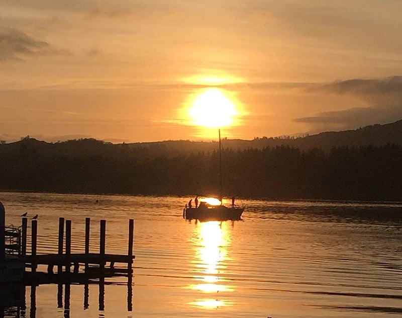 Sunday sunsets - Ambleside