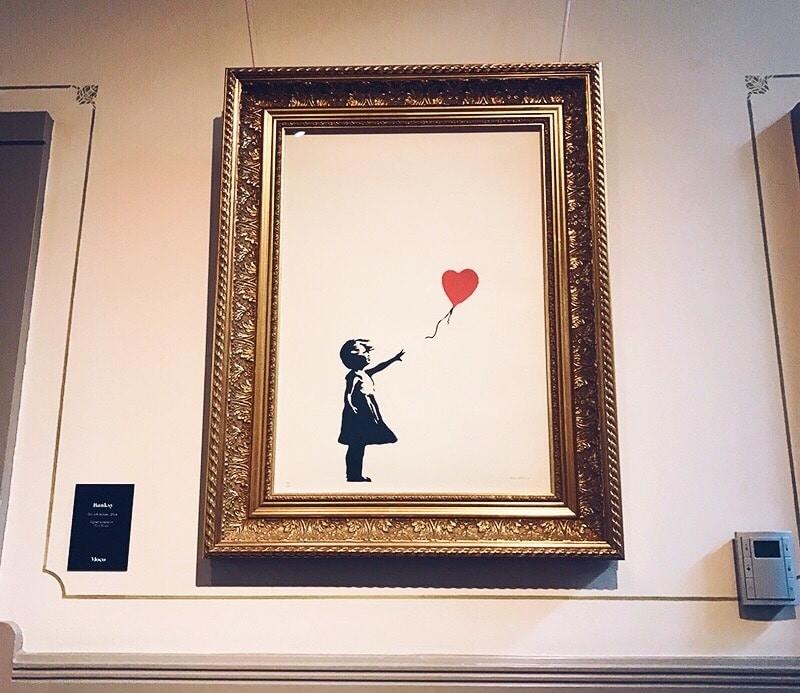 Banksy exhibition, Amsterdam