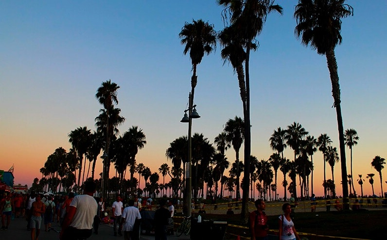 Sunday sunsets - Venice beach