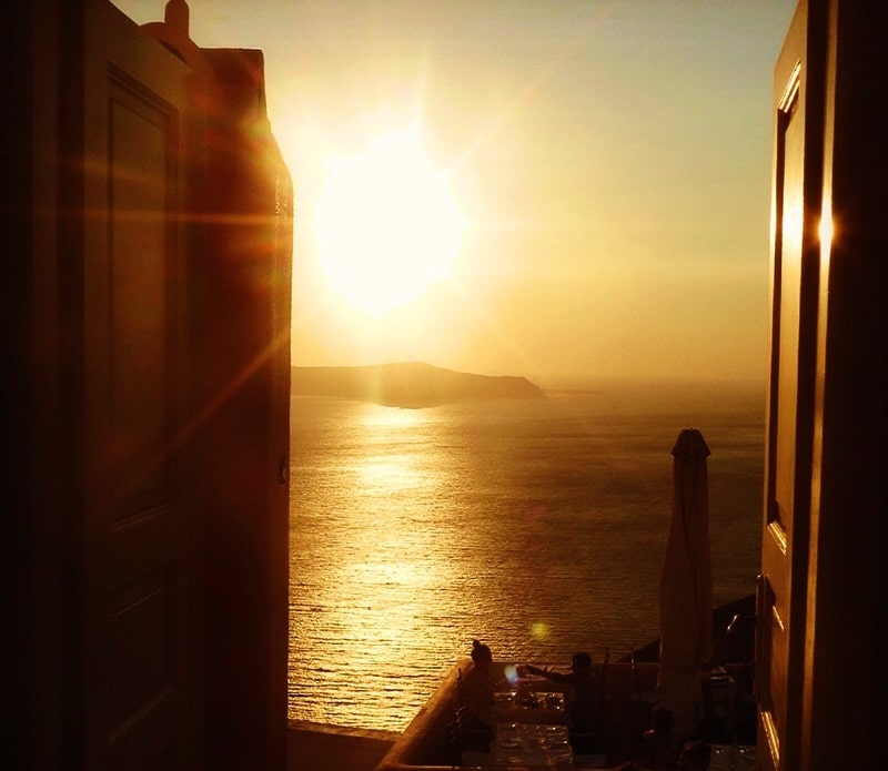 Sunday sunsets - Santorini