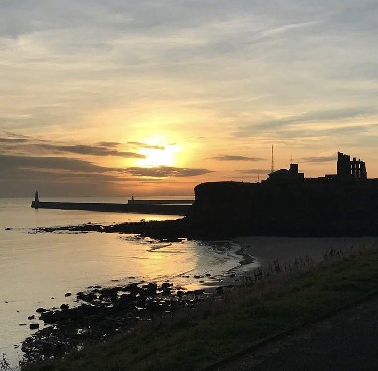 Sunday sunsets - Tynemouth