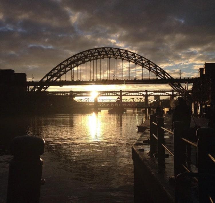 Sunday sunsets - Newcastle
