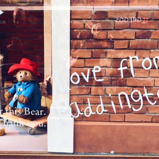 Love from Paddington - Fenwick's Window 2017
