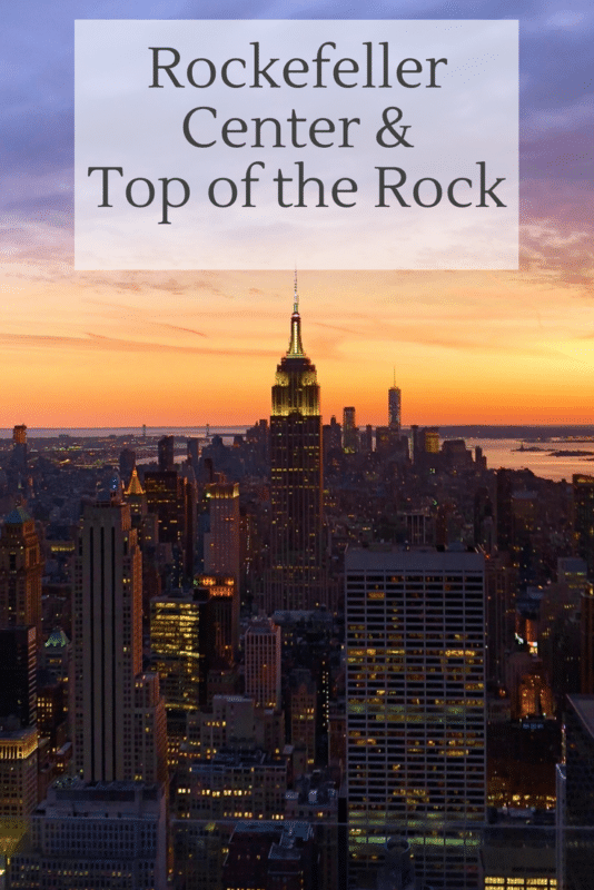 Rockefeller Center and Top of the Rock, New York