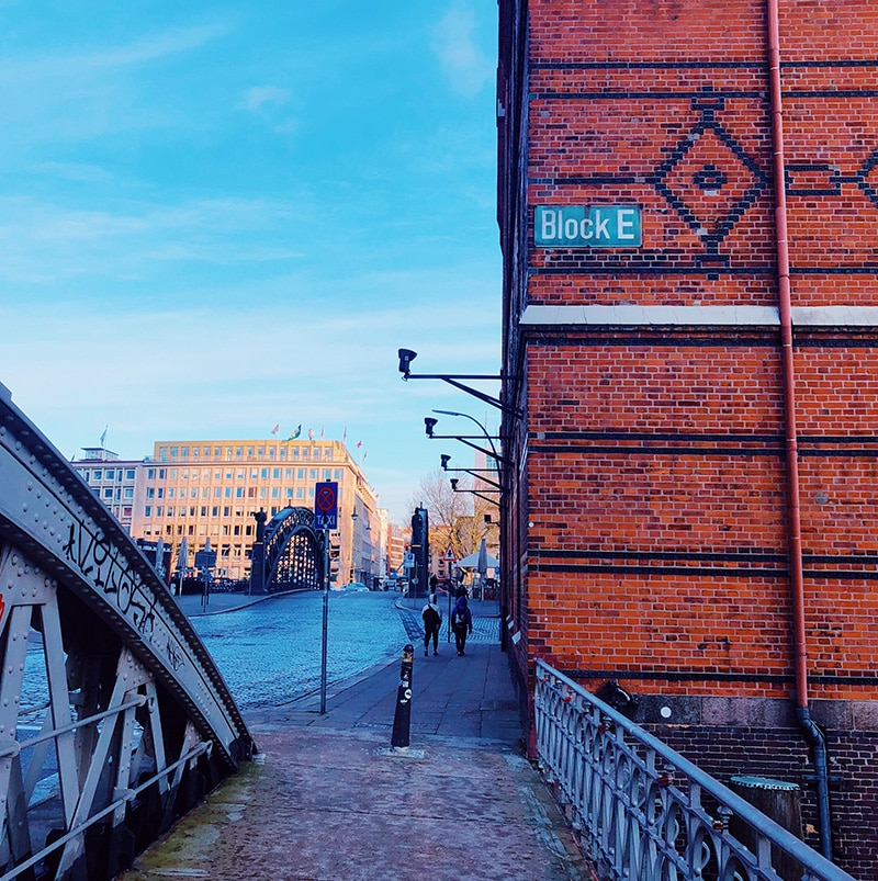 Speicherstadt Warehouse District Hamburg