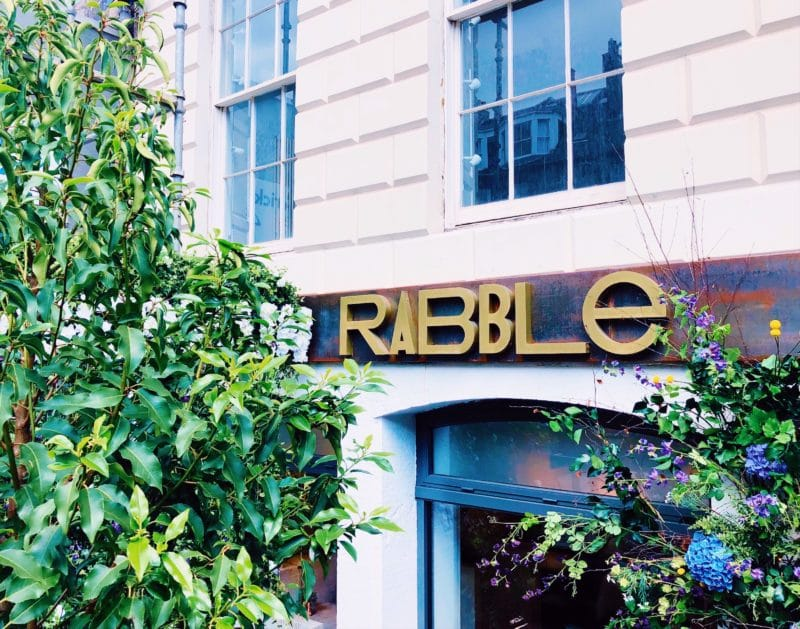Rabble and Copper Blossom, Edinburgh