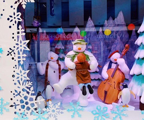 Fenwick's Window 2018 - The Snowman
