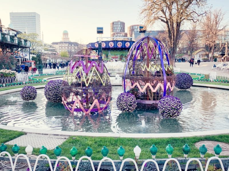 Easter at Tivoli, Copenhagen