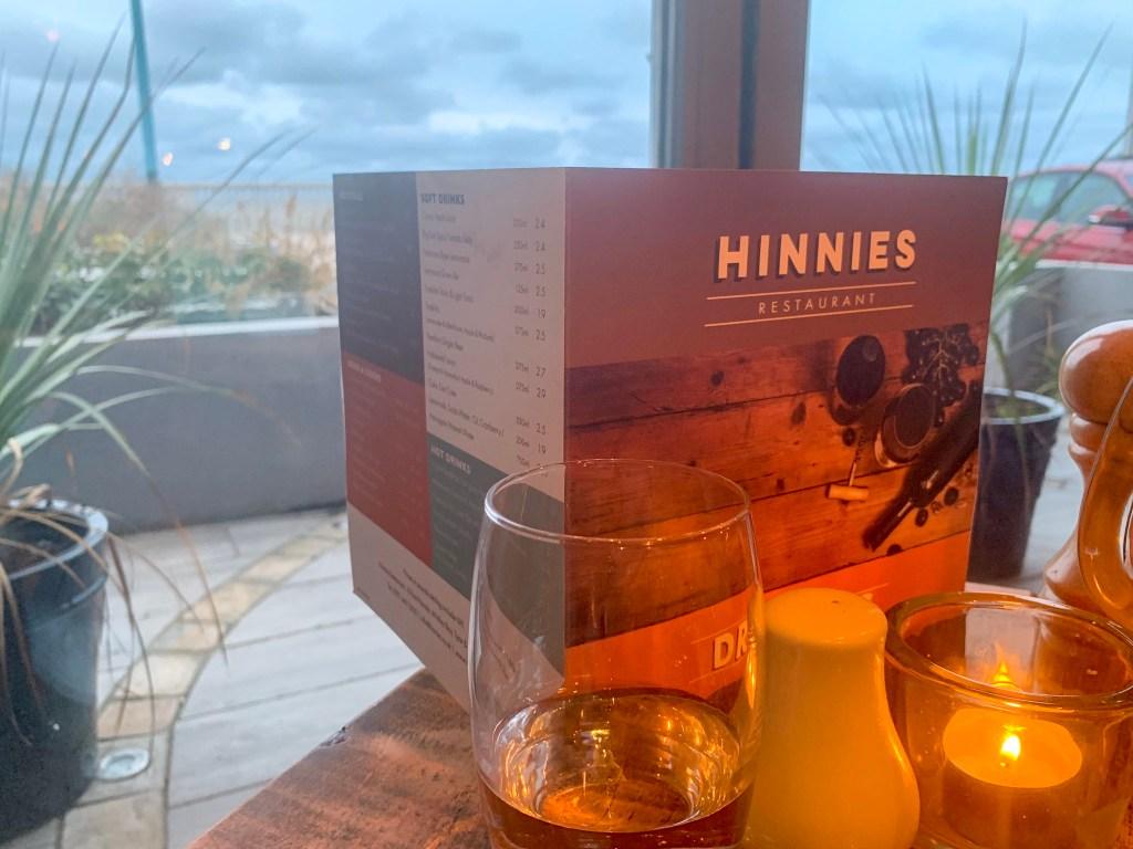 Geordie comfort food at Hinnies, Whitley Bay