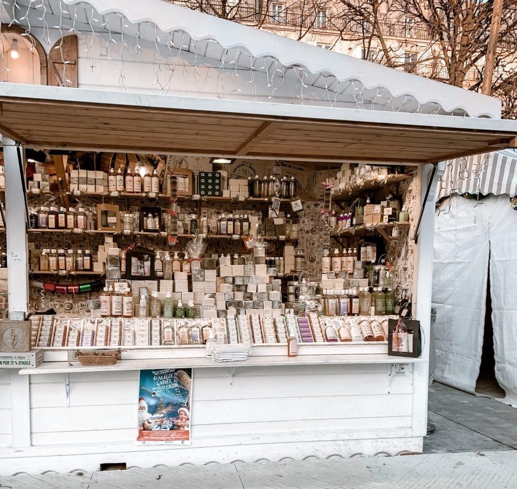 Paris christmas market