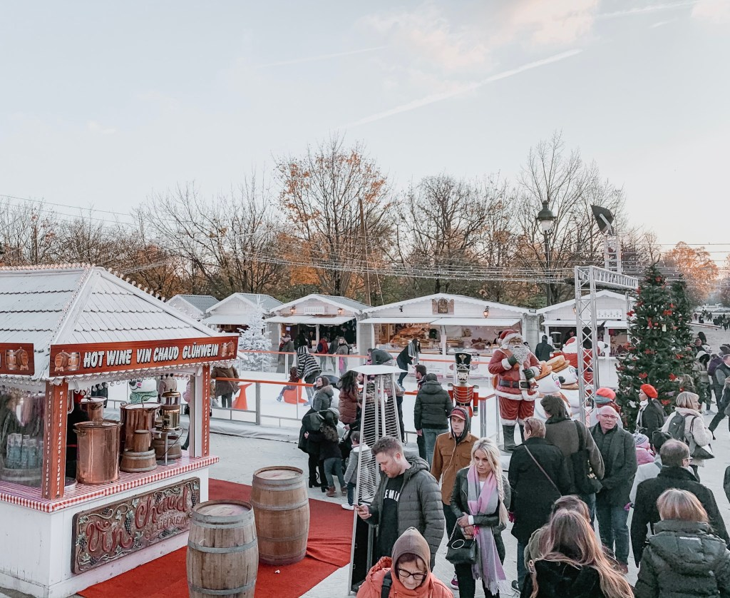 Paris Christmas Market In The Tuileries Gardens