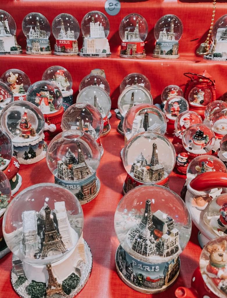 paris snow globes