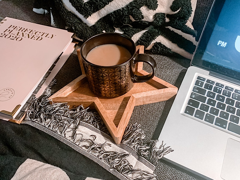 coffee and 2020 planner