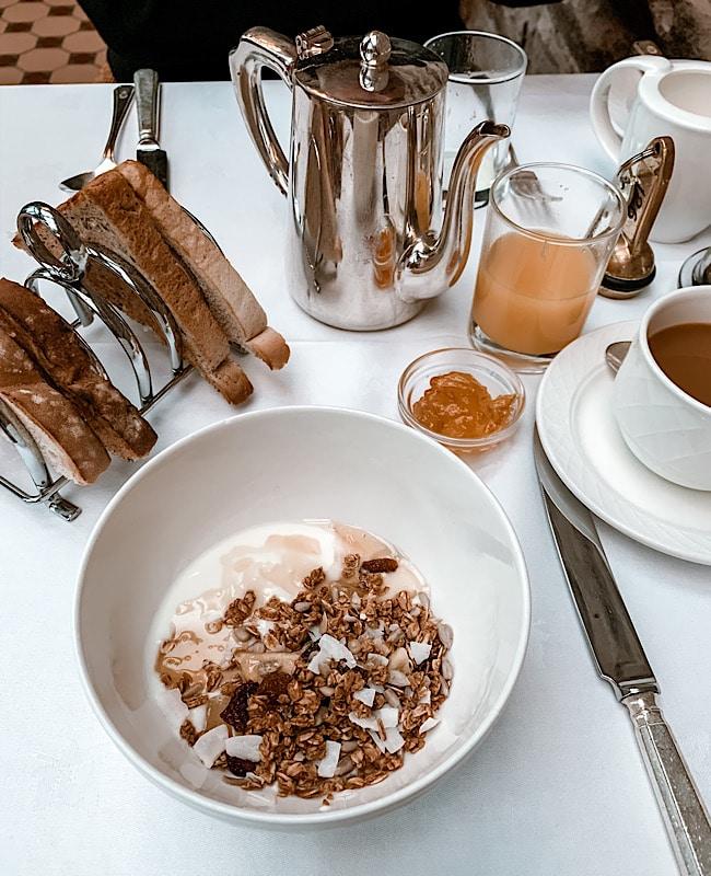 breakfast at Armathwaite