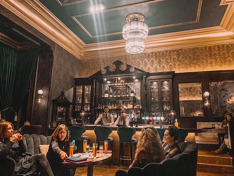 Armathwaite Hall cocktail bar