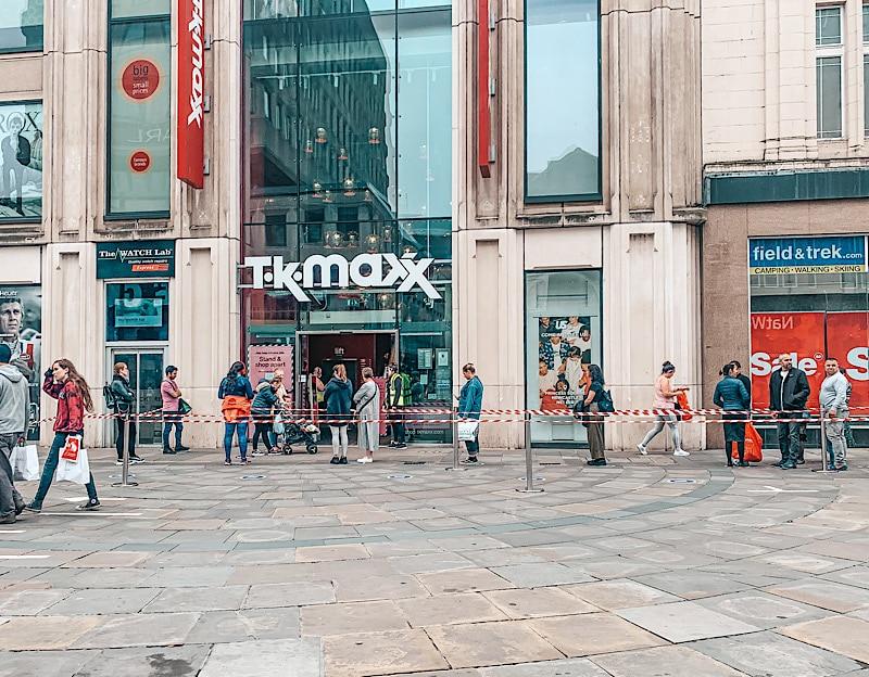 TK Max Northumberland street