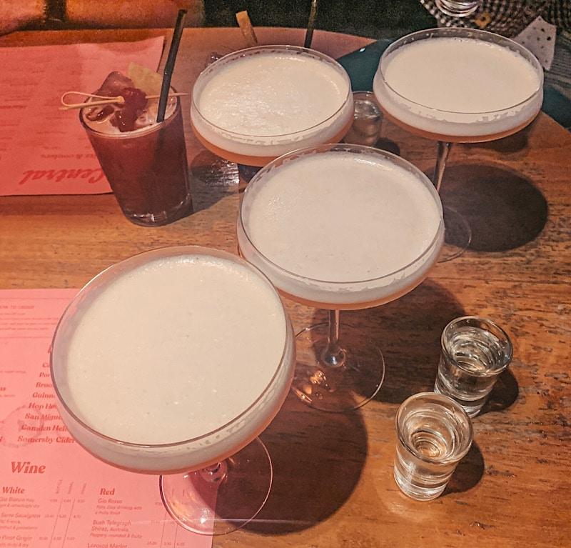 Central shaker cocktails