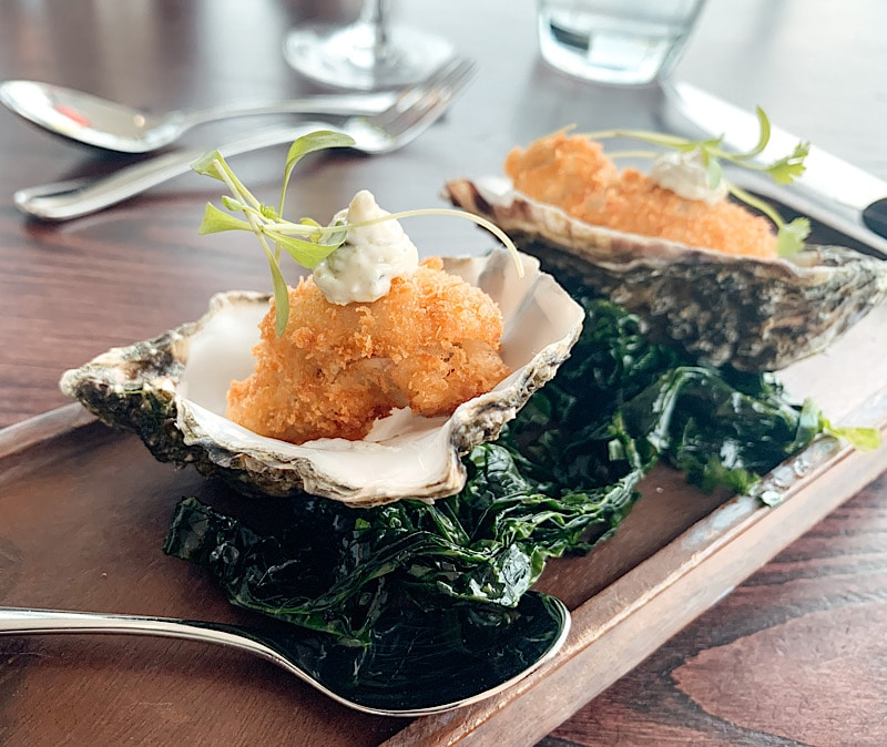 Oysters at 1910 Restaurant Whitley Bay