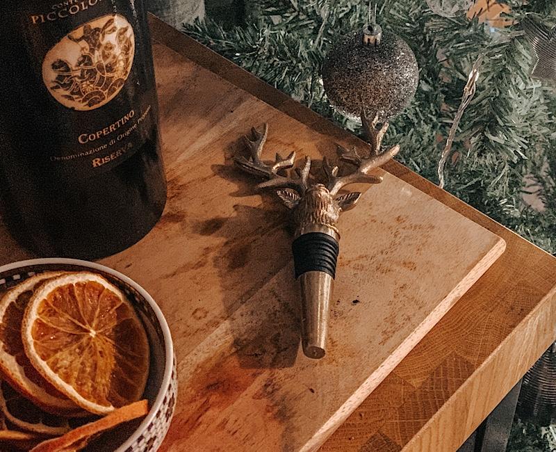 Christmas decor - bottle stopper