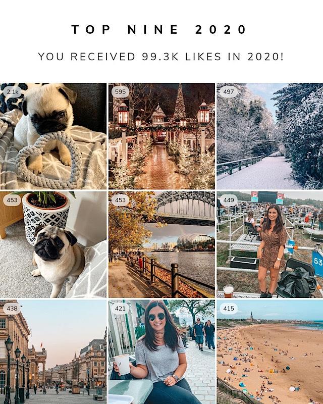 Top Nine Instagram Photos Of 2020