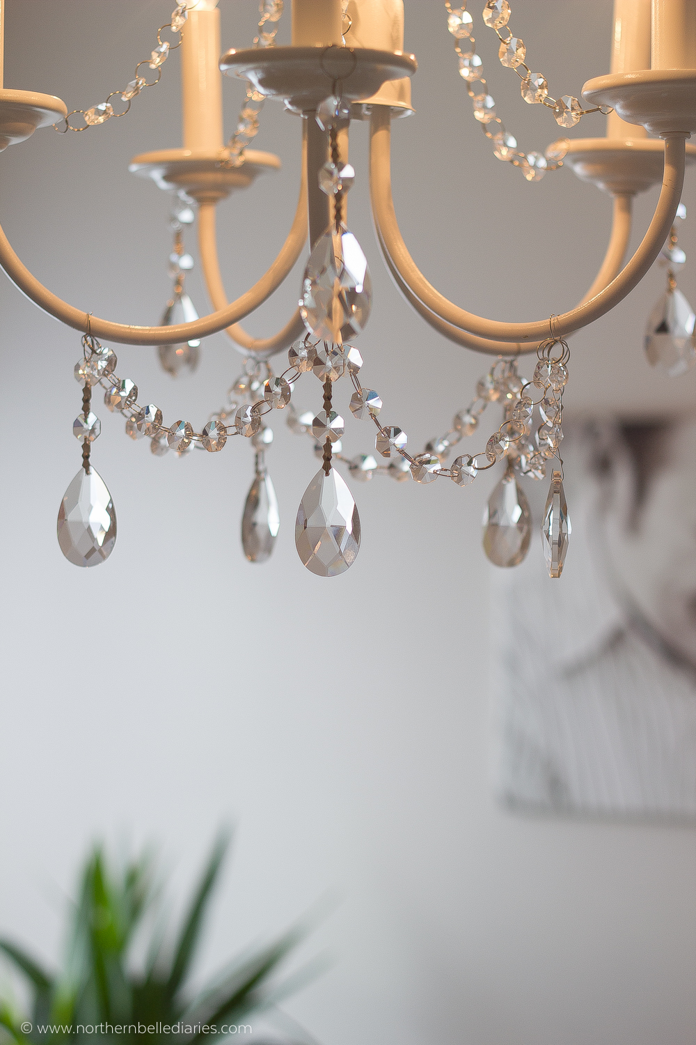 Dining Room Mesmerizing Chandelier Crystals For Home