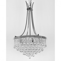 Dining Room: Mesmerizing Chandelier Crystals For Home ...