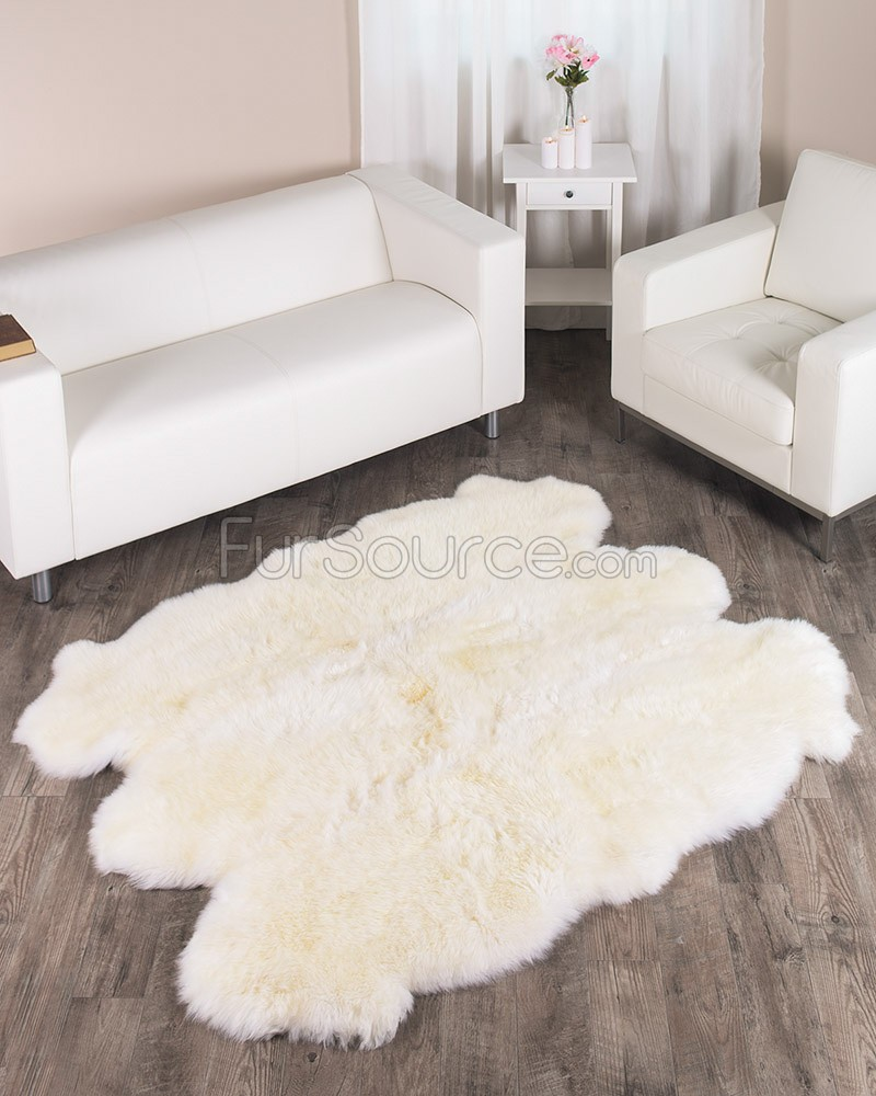 fur rug target  Home Decor