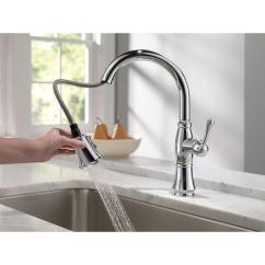 High End Kitchen Faucets Reviews Single Lever Faucet Bathroom: Elegant Design Of Delta Cassidy For ...