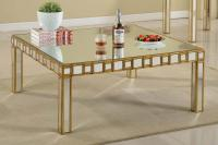Furniture: Appealing Mirrored Coffee Table For Living Room ...