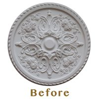 Ceiling: Using Ceiling Medallion For Fascinating Home ...