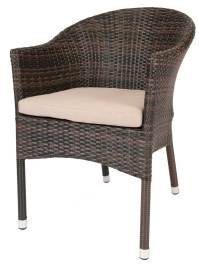 Furniture: Unique Rattan Chair For Indoor Or Outdoor ...