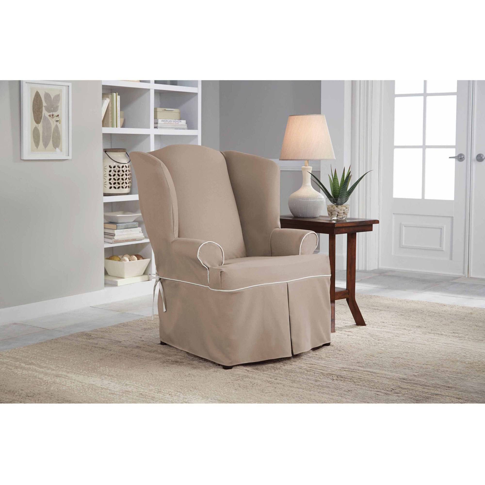 chair slip cover quartz folding slipcovers for sofas with cushions separate finest serta